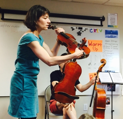 Teaching at Conservatory Lab Charter School, 2015